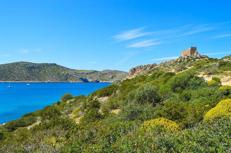 Mallorca-Cabrera-Insel-Burg