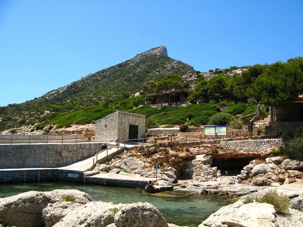 Mallorca-Sa-Dragonera-Hafen