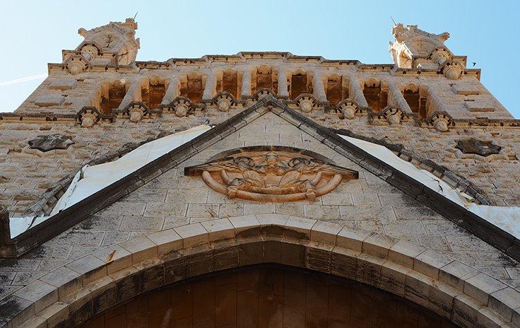 Kirche-St-Bartholomaeus-Sant-Bartomeu-Soller-Fassade