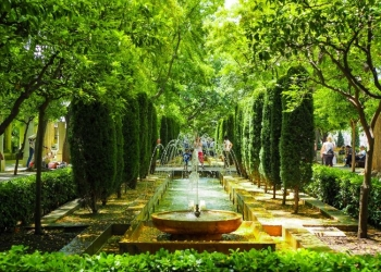 Jardines de S'Hort del Rei – Palmas königliche Gärten am Almudaina Palast