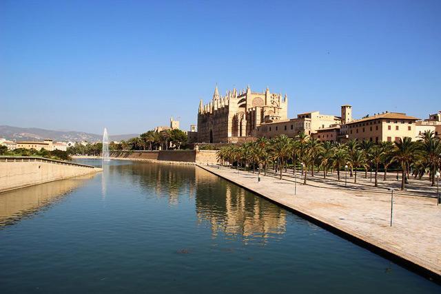 Palma-Kathedrale-See
