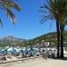 Sonnenschirme in Port de Sóller
