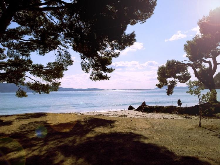 So idyllisch wie hier an der Playa de Formentor ist der Winter auf Mallorca