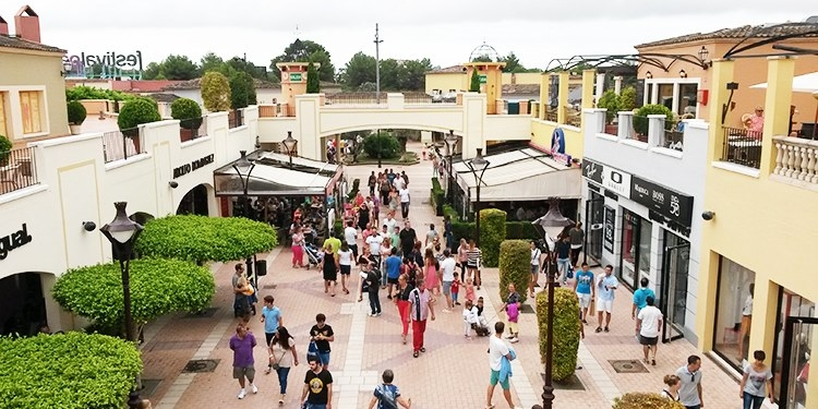 Aus dem früheren Festival Park wurde das Mallorca Fashion Outlet