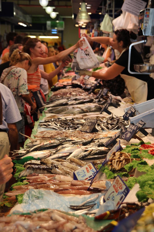 Mallorca-Palma-Markthalle-Fisch