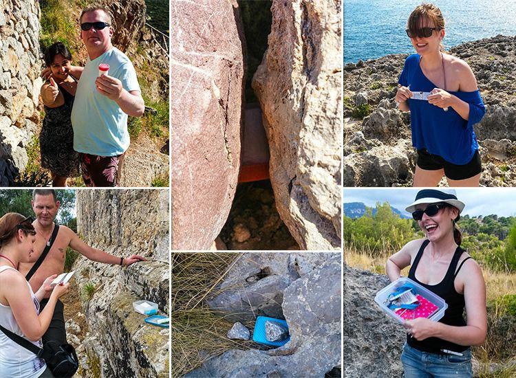 Geocaching-Mallorca-Box-Gefunden