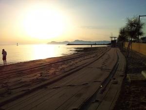 Mallorca-Can-Picafort-Strand-Meer-Sonnenaufgang-300x225