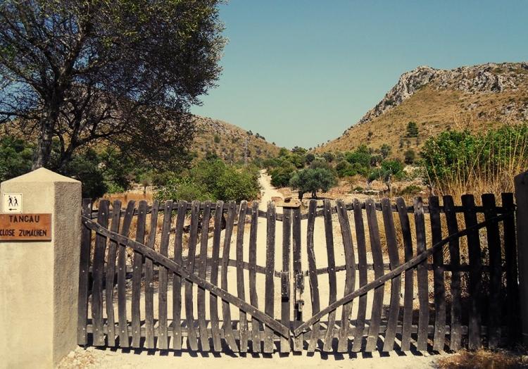 Mallorca Parc-natural-de-la-peninsula-de-Llevant-Weg-Tor-Natur