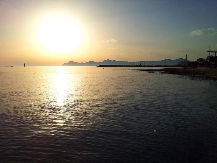 Mallorca-Can-Picafort-Sonnenaufgang-Meer