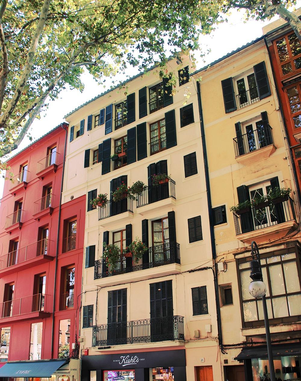 Mallorca-Palma-Hausfassade