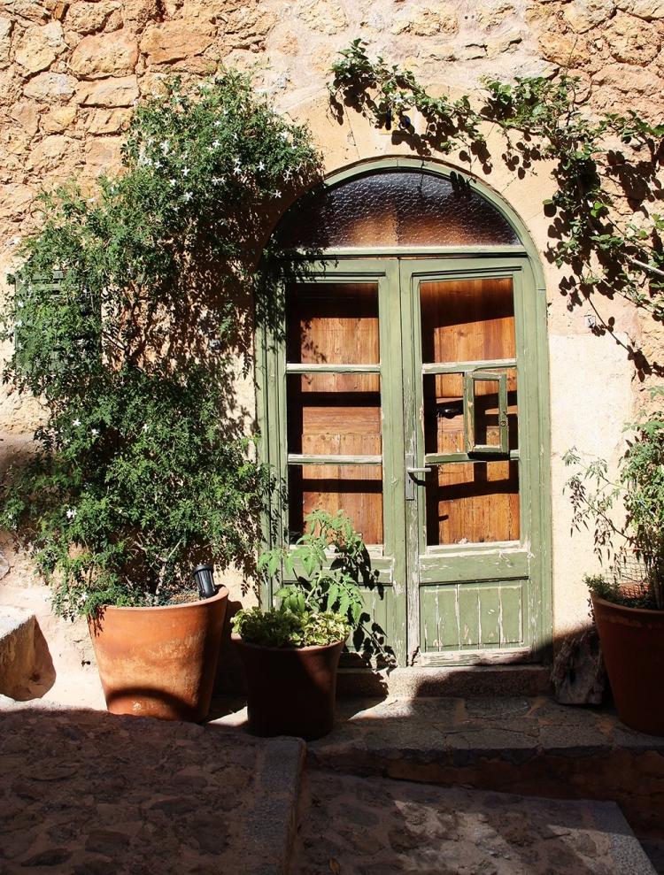 Mallorca-Deia-Haus-Tuer