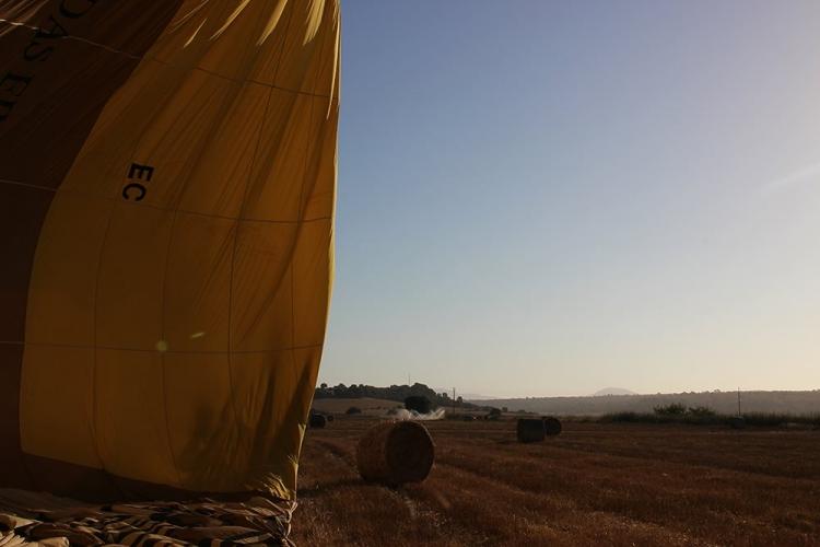 Mallorca-Heissluftballon-Morgen