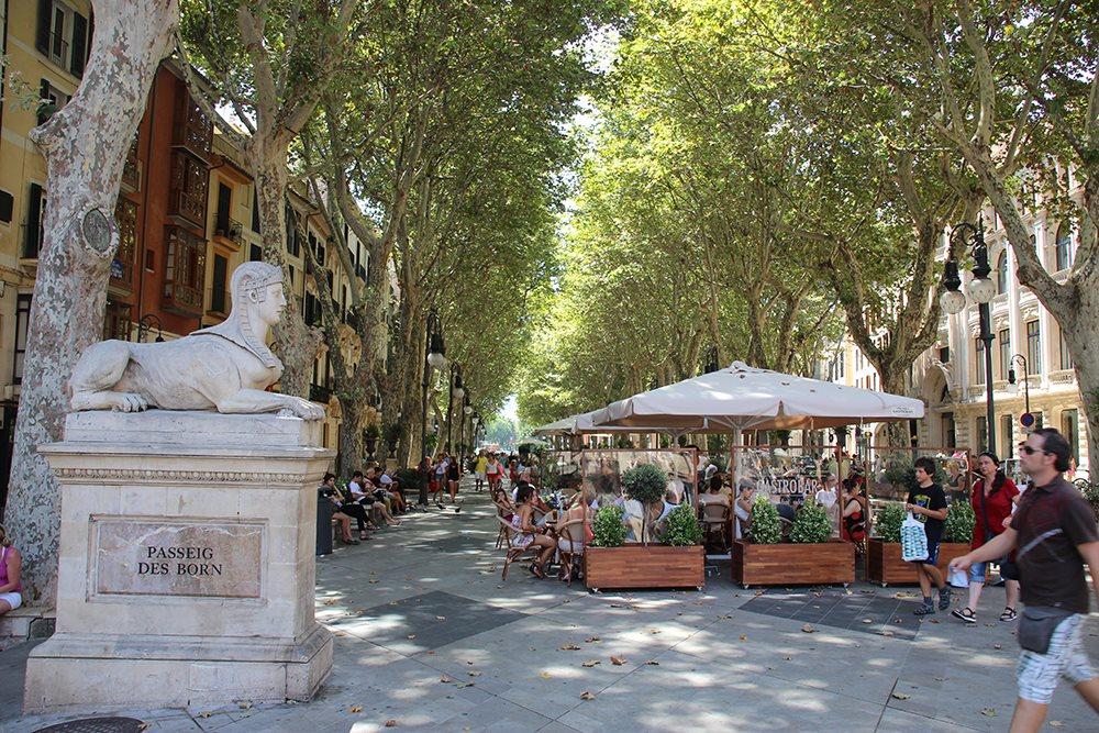 Mallorca-Palma-Passeig-des-Born