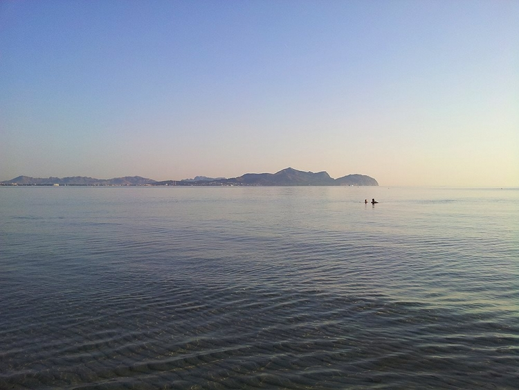 Mallorca-Can-Picafort-Bucht-Alcudia-Meer