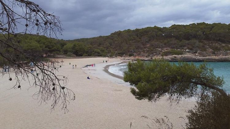 Mallorca Cala-Mondrago-Regen-Wolken