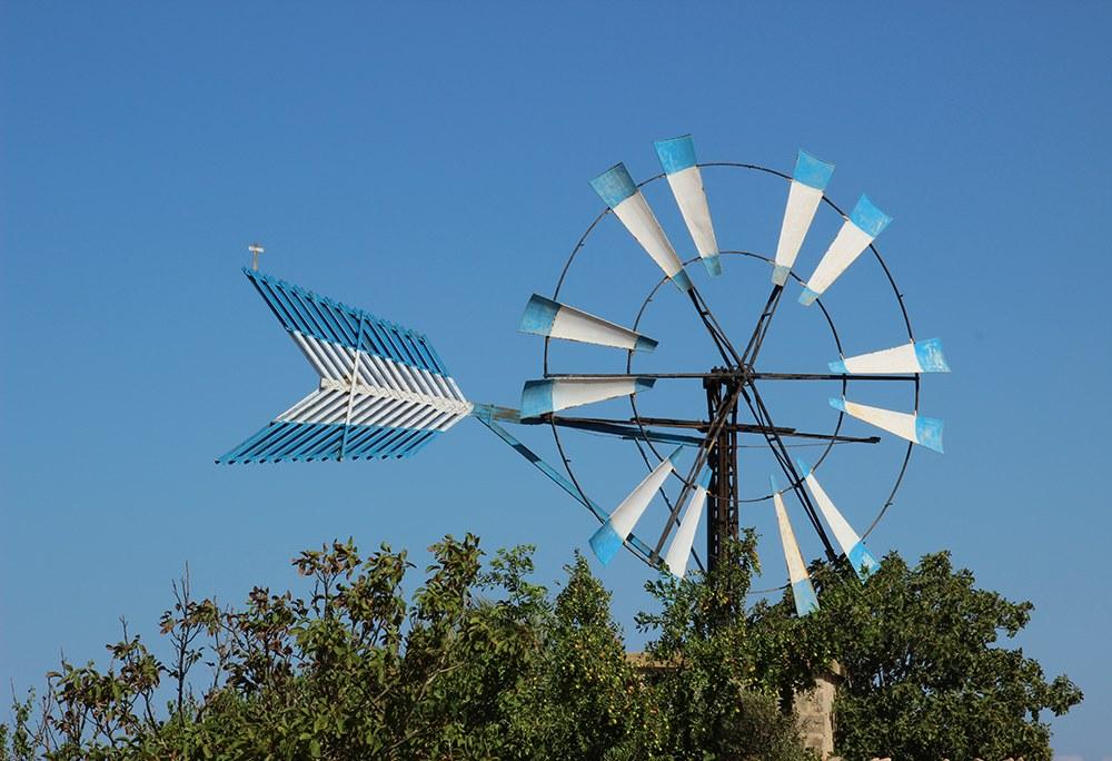 Mallorca-Windmuehle
