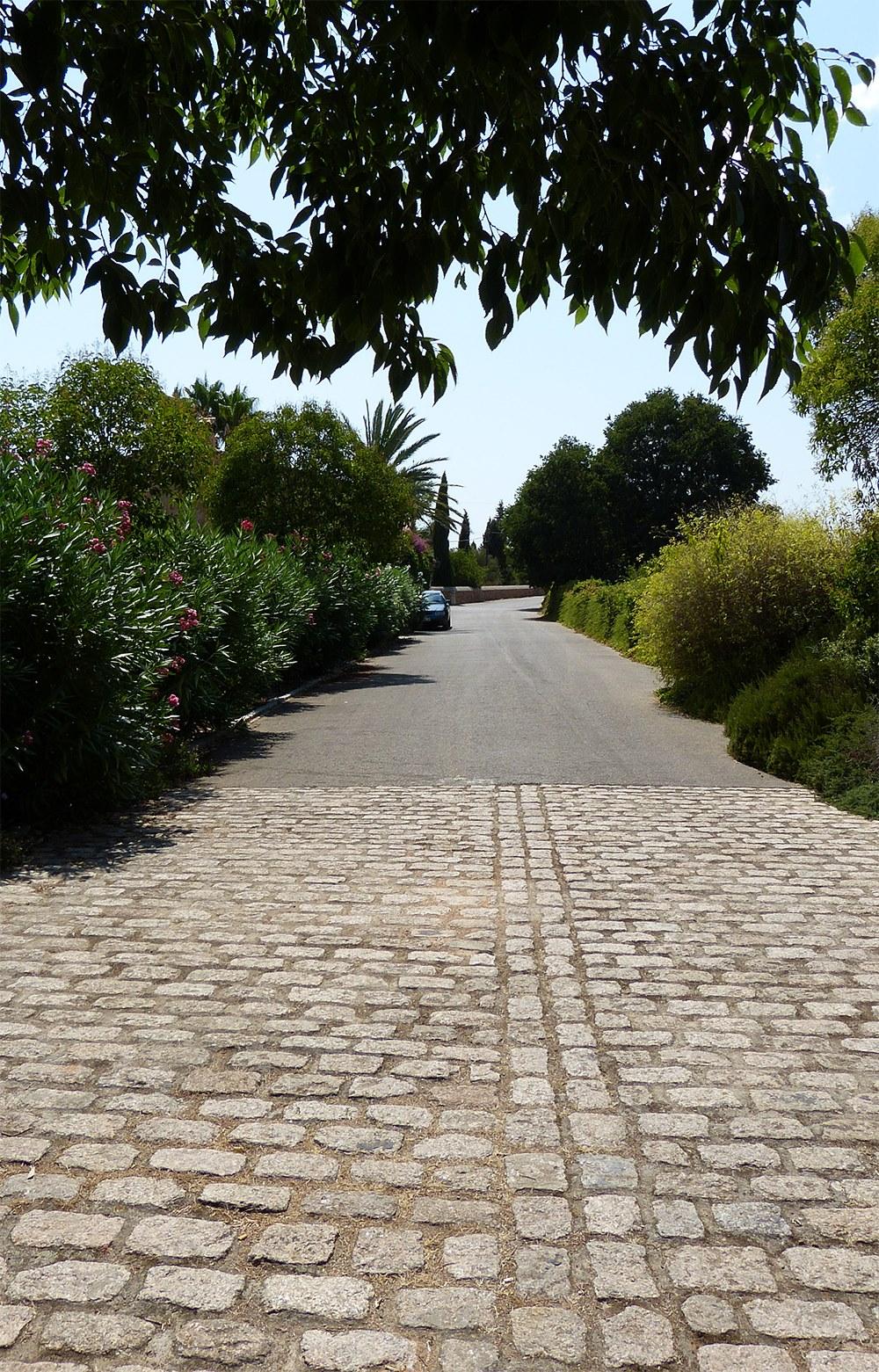 Mallorca-Biniagual-Strasse-Weg