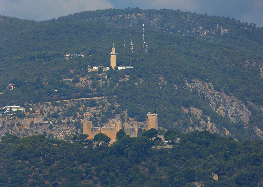Mallorca-Portixol-Palma-Castell-de-Bellver