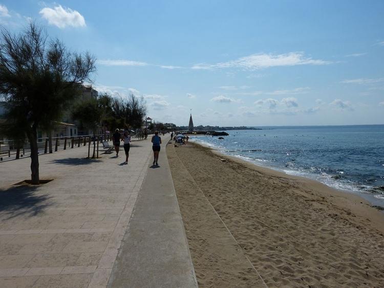 Mallorca-Portixol-Palma-Strand-Joggen