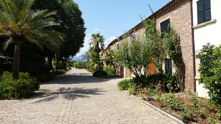 Mallorca-Biniagual-Gasse-Dorf