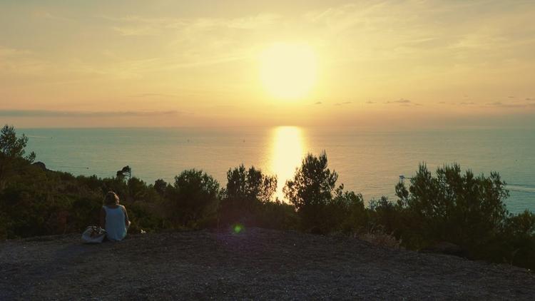 Mallorca-Port-de-Soller-Sonnenuntergang-Meer-Aussicht