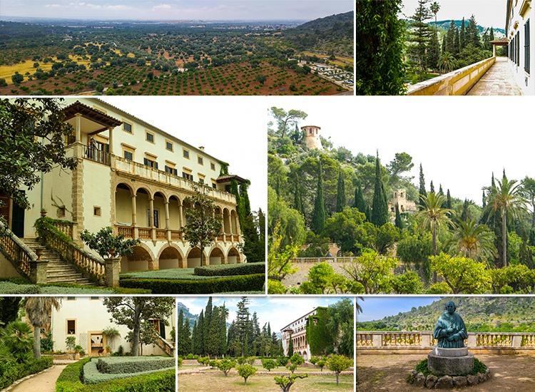 Mallorca-Landgut-Raixa-Haus-Garten
