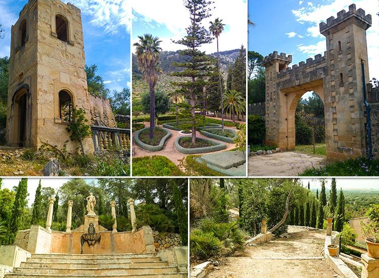Mallorca-Landgut-Raixa-Tor-Garten