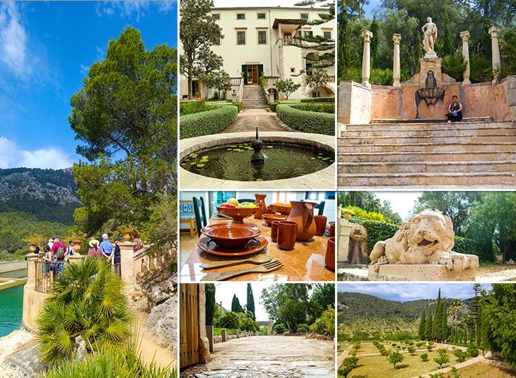 Mallorca-Landgut-Raixa-Treppe-Loewe-Garten