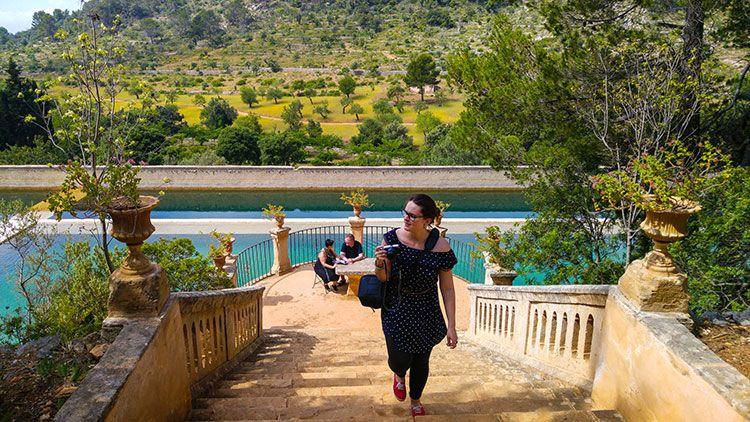 Mallorca-Landgut-Raixa-Treppe