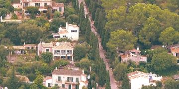 Aussicht-Puig-de-Maria-Pollenca-Treppen