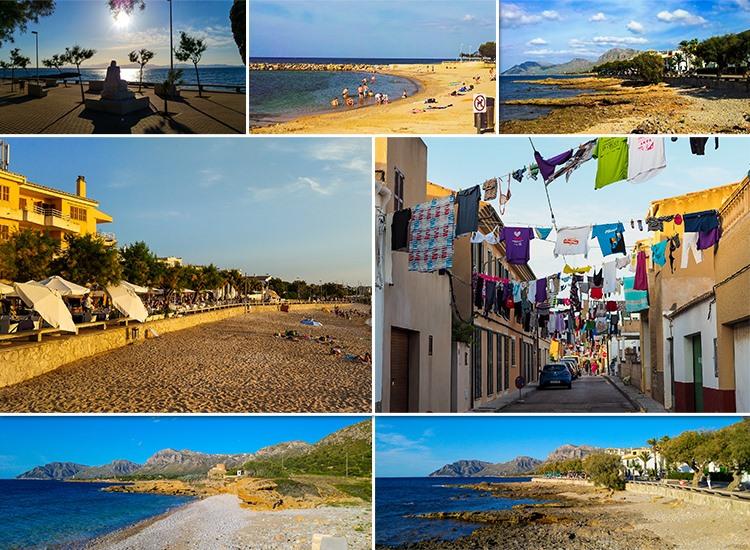 Mallorca-Colonia-de-Sant-Pere-Strand-Promenade