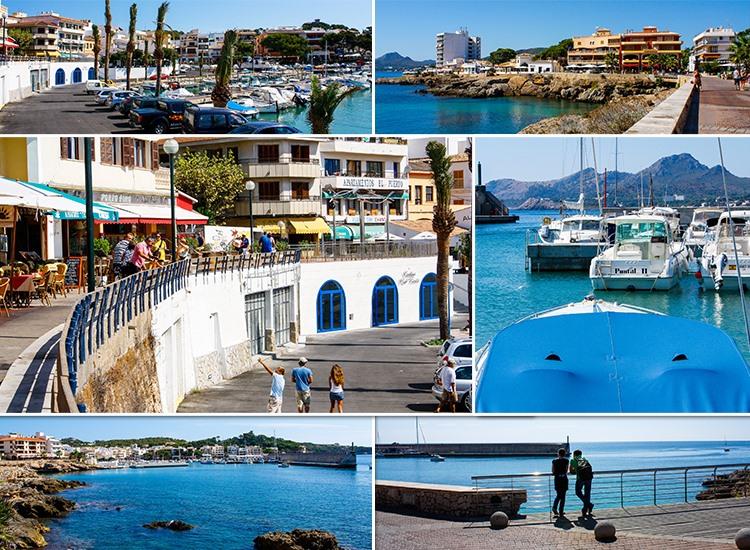 Mallorca-Cala-Ratjada-Hafen-Promenade-Boote