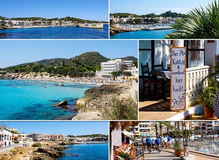 Mallorca-Cala-Ratjada-Hafen-Promenade-Restaurants