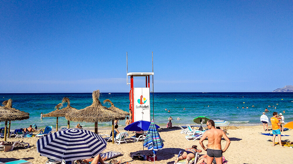 Mallorca-Can-Picafort-Strand-Meer-2
