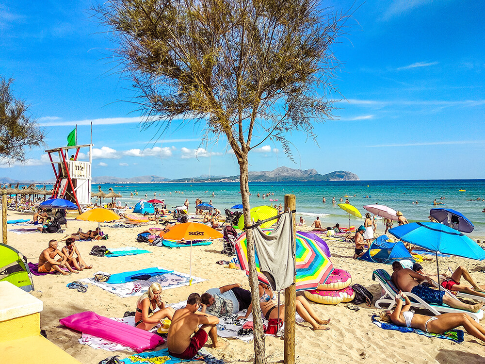 Mallorca-Can-Picafort-Strand-Meer-3
