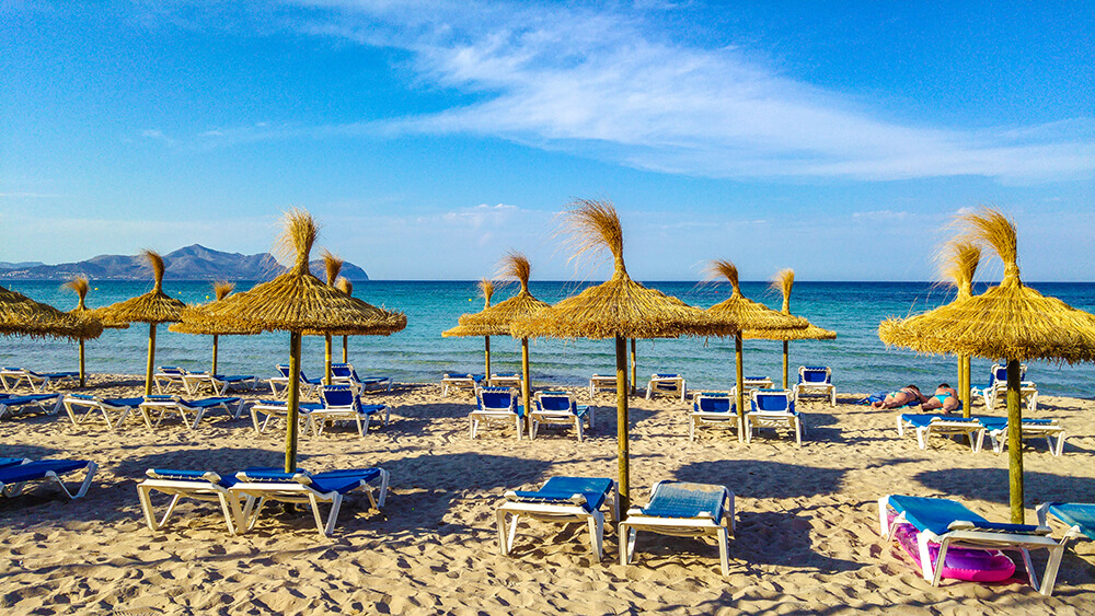 Mallorca-Can-Picafort-Strand-Meer-4