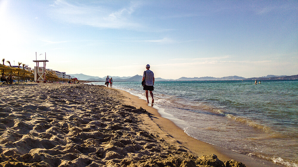 Mallorca-Can-Picafort-Strand-Meer-5