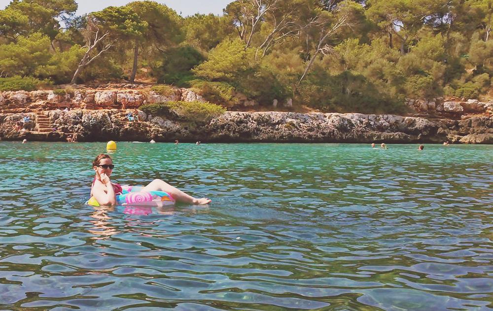 Meer-Schwimmring-Sonnenbrille