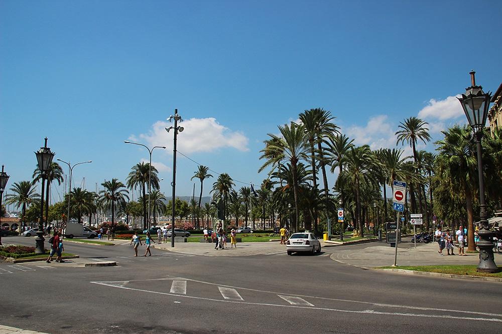 Palma-De-Mallorca-Strasse