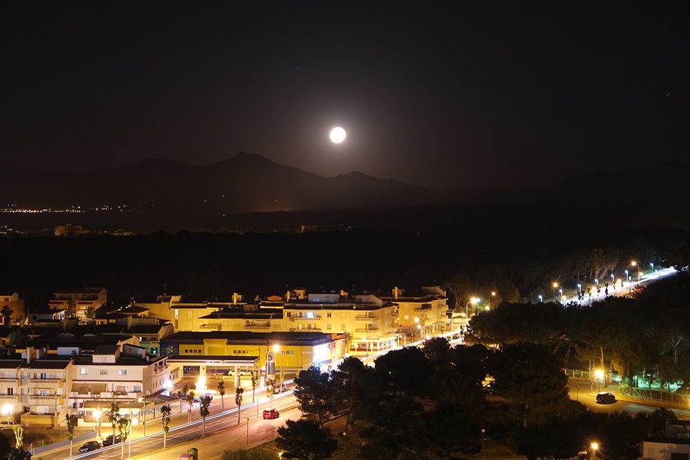 Mallorca-Can-Picafort-Nacht
