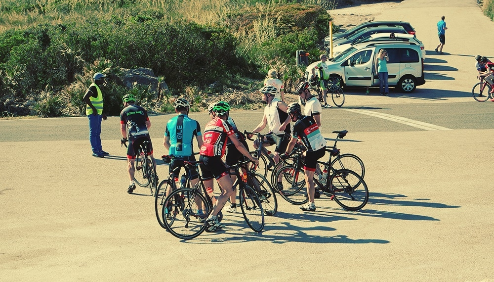 Mallorca-Cap-Formentor-Fahrradfahrer