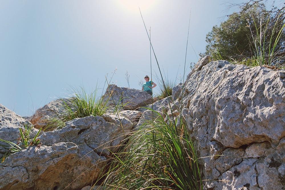 Mallorca-La-Victoria-Wandern-Geocachen-Meer-Aussicht-Klettern