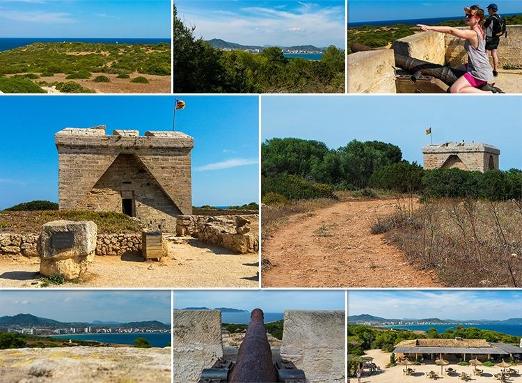 Mallorca-Sa-Coma-Cala-Millor-sa-Punta-de-nAmer-Burg-Ausblick-Meer
