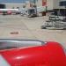 Mallorca-Flugzeug-Warten