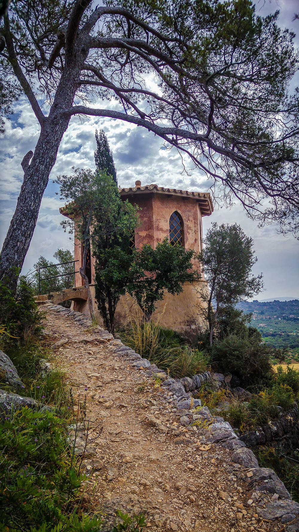 Mallorca-Landgut-Raixa-Turm-1