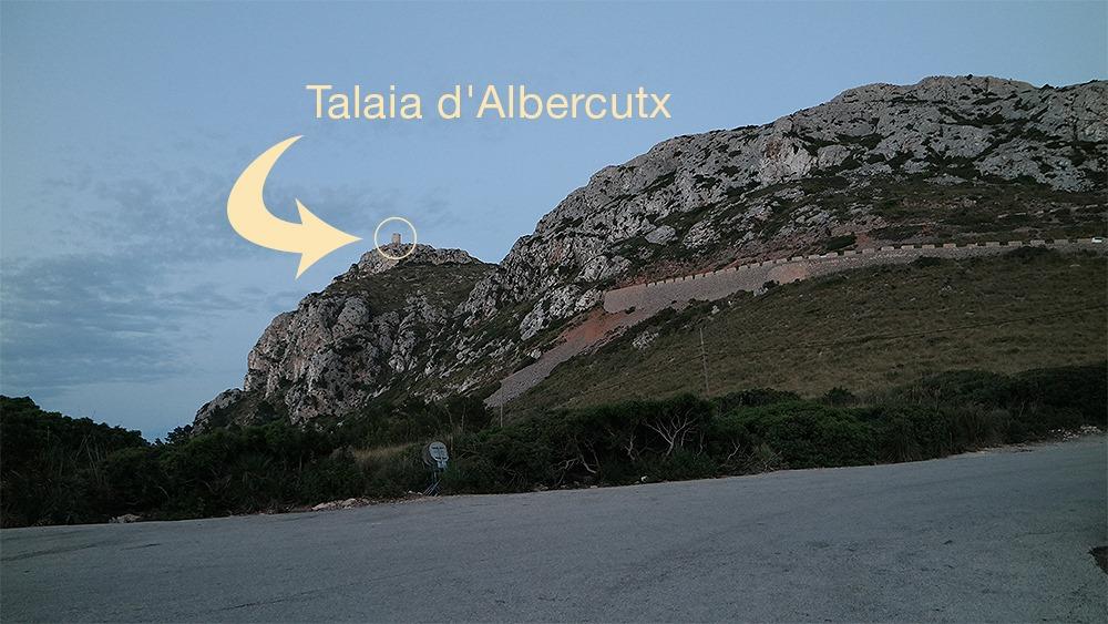 Mallorca-Cap-Formentor-Sonnenuntergang-Talaia-dAlbercutx-Von-Parkplatz