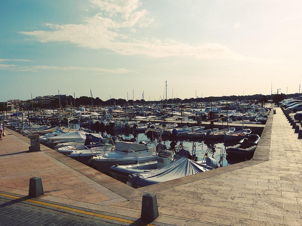 Mallorca-Palma-Portixol-Meer-Hafen-Boote