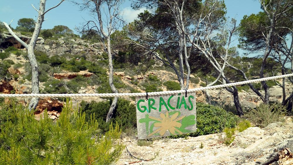 Mallorca-Calo-des-Moro-Absperrung