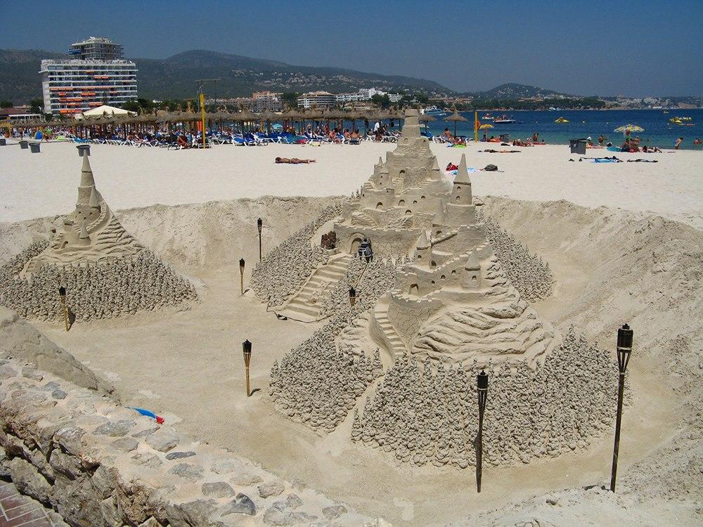 Mallorca-Strand-Magaluf-Sandburg
