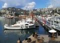 Mallorca-Winter-Schnee-Berge-Port-Andratx-Hafen-Enten-Boote-120x86